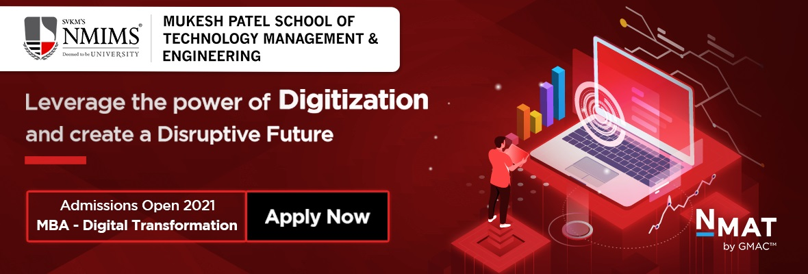 MBA in DIGITAL TRANSFORMATION THROUGH MPSTME - NMIMS