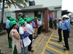Industrial Visit for students to your company's Ambernath plant Viswaat Chemicals Limited-Chem Dept