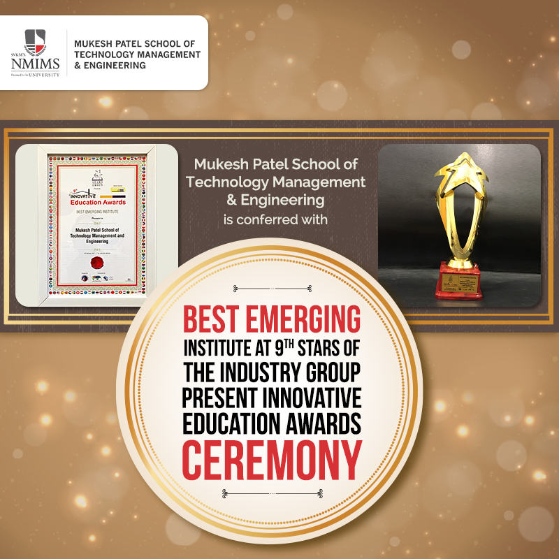 best emerging institute award